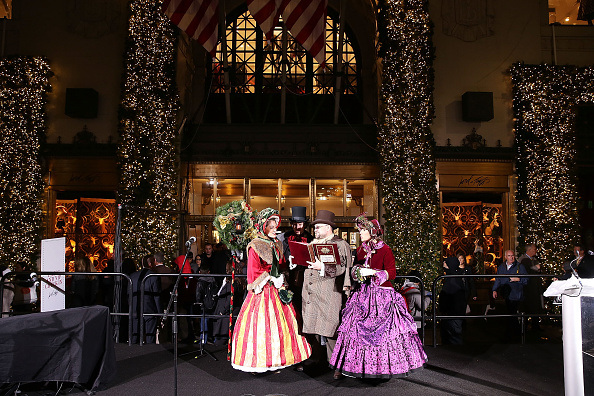 Lord & Taylor and Nick Jonas Unveil 2014 Annual Holiday Windows